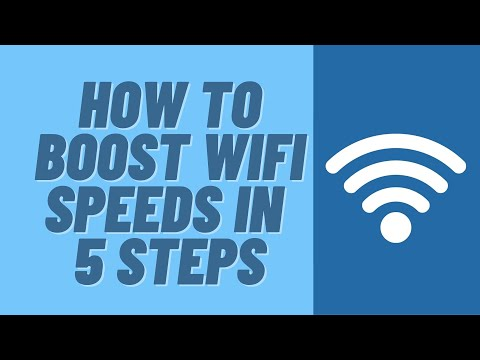 How to boost wifi speeds in 5 steps
