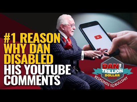 #1 reason why dan disabled his youtube comments   dan responds to bullshit