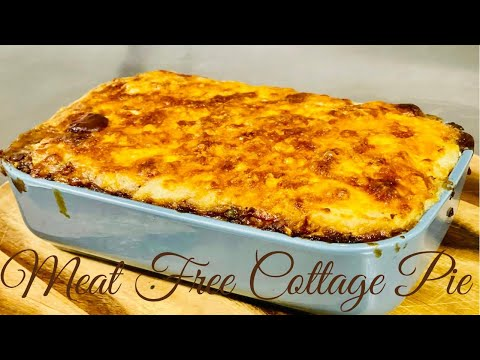 How to make the best meat free cottage pie