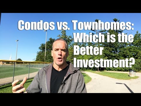 Condos vs. townhomes: which is the better investment?