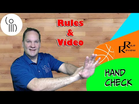 What is a hand check? one hand? two hands? one or more touches? watch this video and find out.