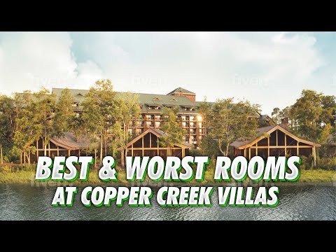Best & worst rooms at disney's copper creek villas & how to make a room request