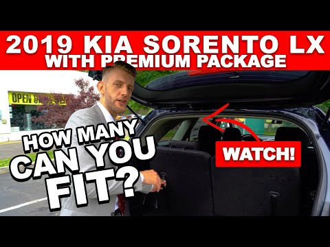 How many people can fit in a 2019 sorento?   yonkers kia bronx queens new rochelle white plains ny