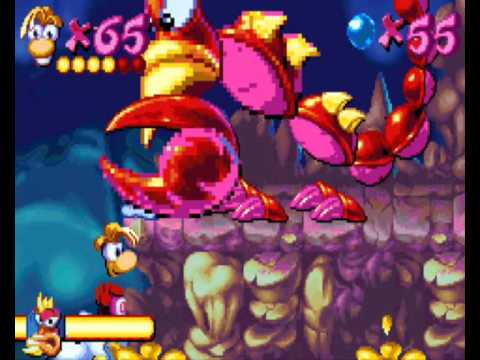 """Let's play """"rayman advance"""" - part 15: skops' pointy things"""