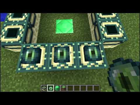 Minecraft tutorial - how to make a portal to the end! (works in all versions after beta 1.8)