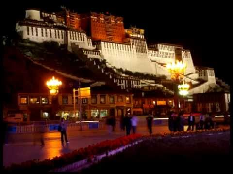 Potala palace in china is beautiful place to go to.