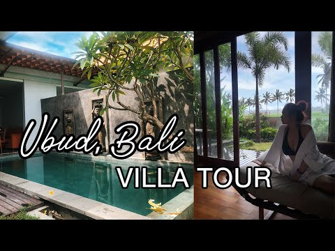 Ubud bali villa tour (is it better to get a villa than a hotel when in bali?)