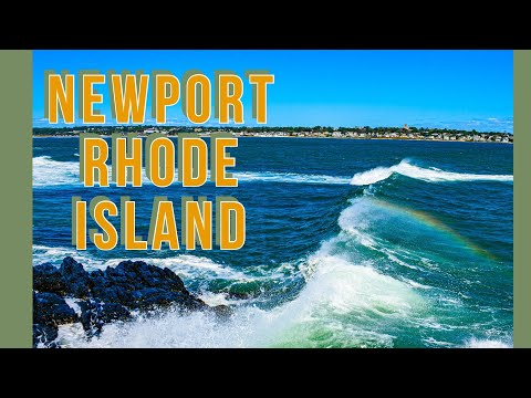 Newport rhode island cliff walk and mansions 2020