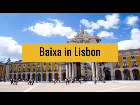 Discovering baixa in lisbon : history and cool places