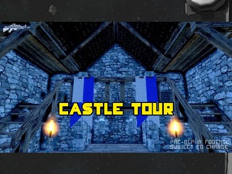 Medieval engineers - castle tour, exploring a fortress