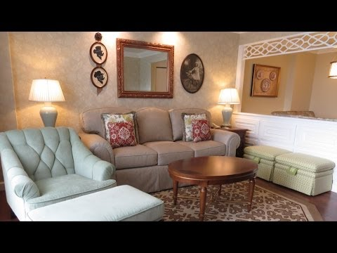 The villas at disney's grand floridian resort - two bedroom lockoff villa detailed room tour