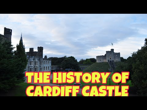 The history of cardiff castle in wales