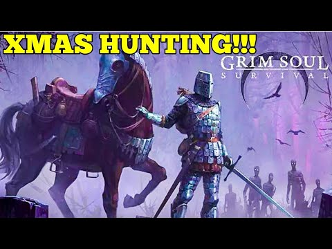 Christmas hunting! why i keep dying! | grim soul dark fantasy survival gameplay (ep 14)