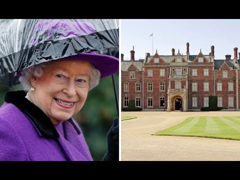 How many palaces does the queen have? royal residences exposed