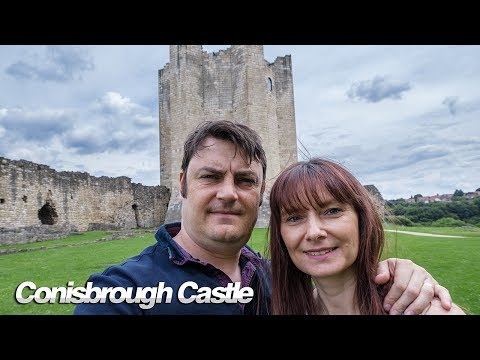 Conisbrough castle i was really brave out on the roof