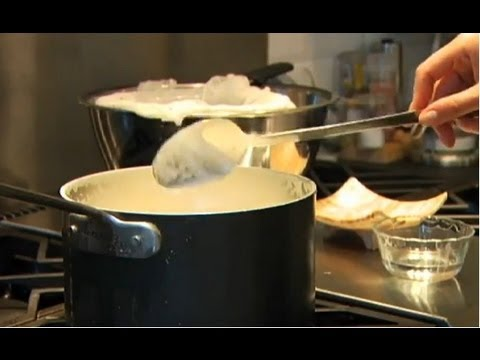Make cheese using old milk (cheese and milk video)