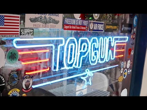 Top gun (1986) filming locations in san diego - beach cottage / bar scenes / first kiss & much more