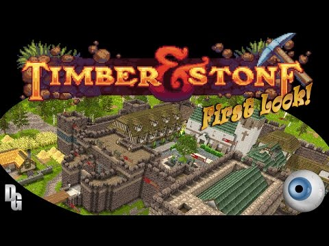 Timber and stone v.171 ► cross-eyed medieval pioneers! (first look & tutorial)