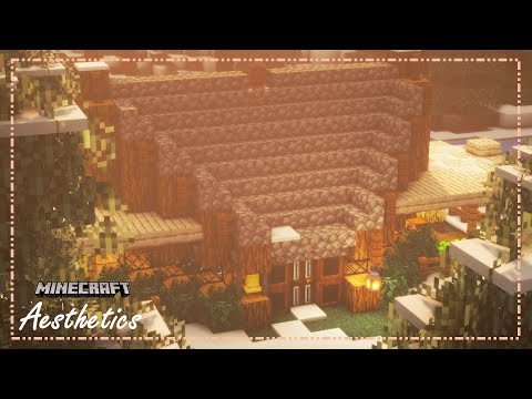Minecraft   how to build a library themed cottage