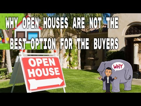Why open houses are not the best option for the buyers