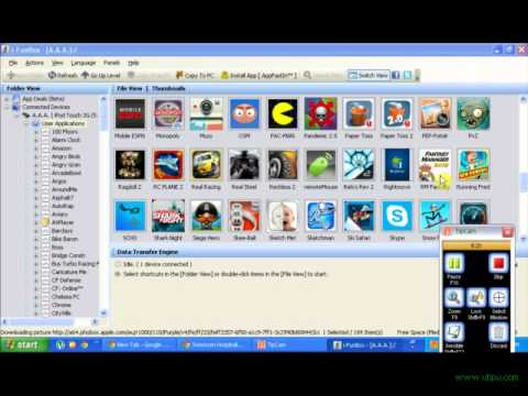 How to use ifunbox (for windows and mac)