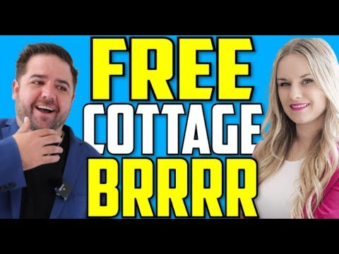 How they brrrr a cottage for free! vacation rental investing