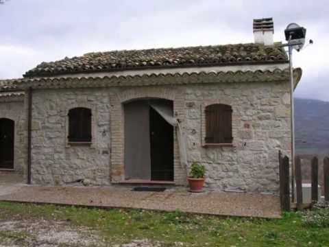 Property for sale in italy - stone country house for sale with land in celenza, abruzzo