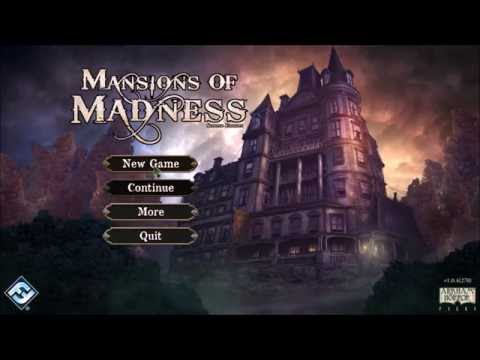Mansions of madness 2e - setup & turn1 (by black belt gaming)