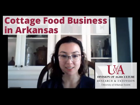 Starting a cottage food business in arkansas