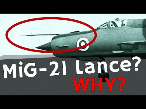 Why does the mig-21 have the pointy thing?