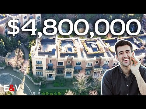 Inside this $4.8 million townhouse in shaughnessy | townhouse tour