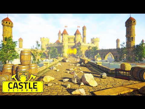 New medieval castle building - build your own village, farms, forts too! | medieval castle flipper