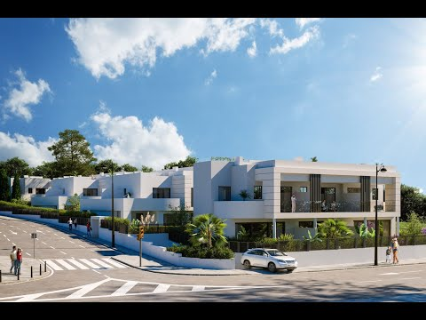 Brand-new development of 14 townhouses in cancelada   nch dallimore marbella