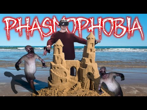 Building a castle in phasmophobia vr - level 2112