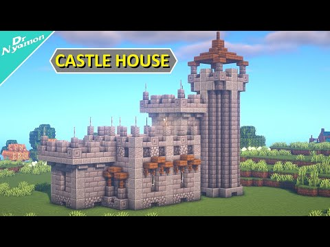 How to build a compact cheap castle [minecraft tutorial]