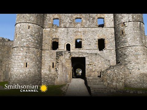 Why wales is the place to go for medieval castles 🏰 aerial britain | smithsonian channel