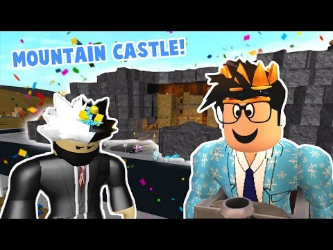 Touring a fancy and very expensive mountain castle! it's crazy...