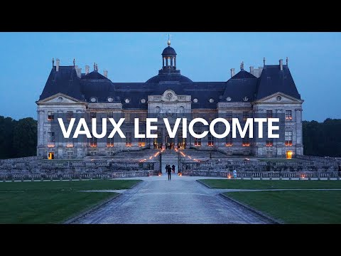 Candle-lit french chateau 🏰 vaux le vicomte summer fireworks - easy day trip from paris