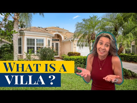 What is a villa? what is the difference between a home and a villa?