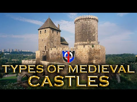 The different types of medieval castles