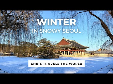 Snowy winter in seoul - top places to visit