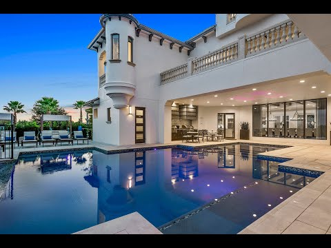Reunion castle   10 bed villa with custom private pool, games room & movie theatre