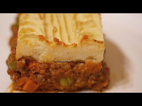 How to make a cottage pie