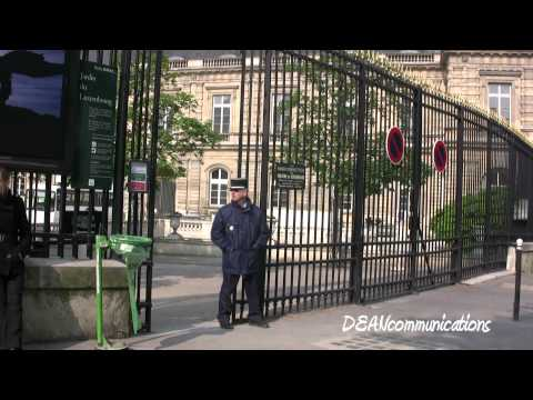 Luxembourg palace and gardens - paris