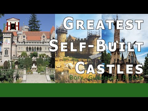 The greatest self-built castles in the world (hungary, united states, france)