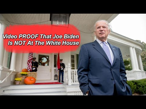 Video proof that joe biden is not at the white house but rather castle rock studios
