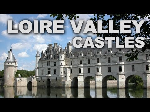 Castles (châteaux) of the loire valley in france