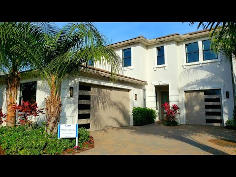 New construction luxury model home tour | 4 bedroom | lake worth | south florida home for sale