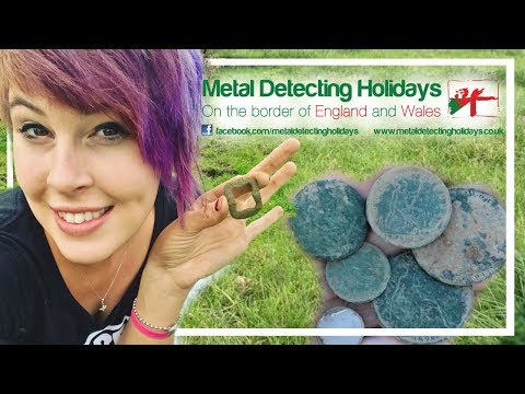 Castles, coins, and rain in england   metal detecting holidays