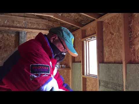 How to properly insulate your shed, cabin, house or your garage